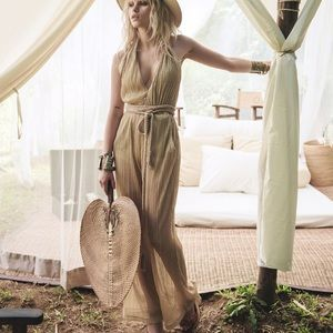 Spell & the Gypsy Collective Liquid Gold Jumpsuit